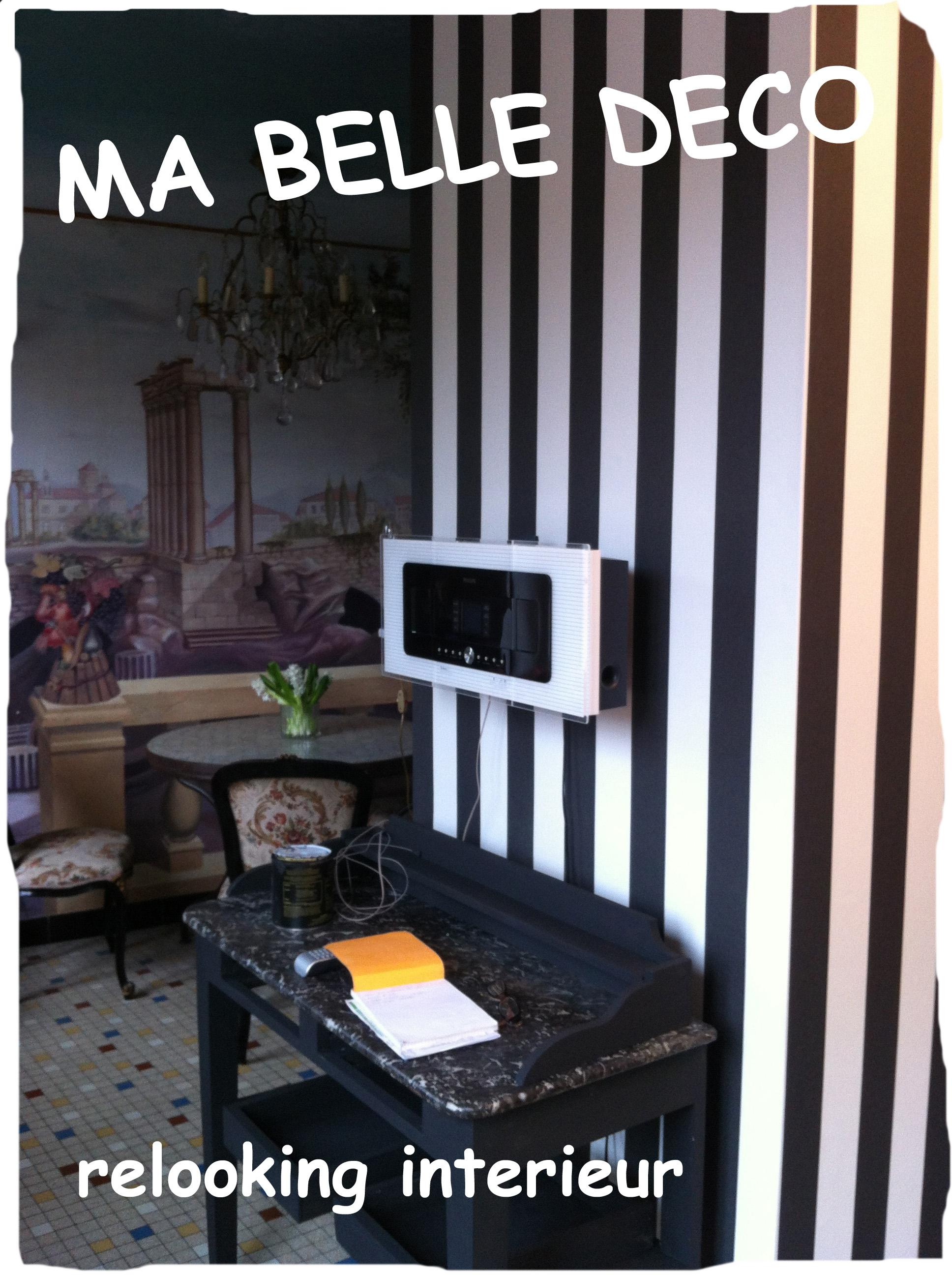 Travaux papier peint tapisserie lambris for Relooking interieur